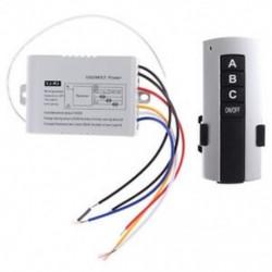 220 V háromcsatornás vezeték nélküli távirányító kapcsoló V1A7 digitális távirányító kapcsoló