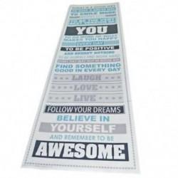 Légy félelmetes, motiváló motivációs boldogság idézetek Pr S4V3 dekoratív poszter