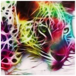 Modern absztrakt ruhával nyomtatott festmény dekoratív faldekorációval X6O9 Y3M7 A3D5