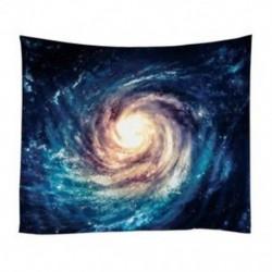 Galaxis csillagok az űrben Csillagászati bolygók Tejút falra lógott 150 * 130 cm Y I6D0