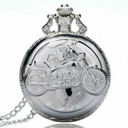 2X (Nagy finomláncú ezüst zsebóra Stílusos és kifinomult személyiség m W4D2