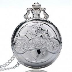 2X (Nagy finomláncú ezüst zsebóra Stílusos és kifinomult személyiség m R6X7
