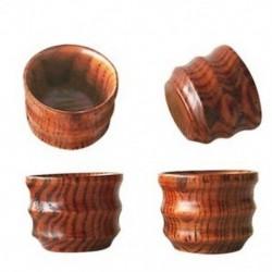 1X (4 db kínai, fából készült apró teáscsészék, egyedi mini bögrék a J2M7 teáskannához
