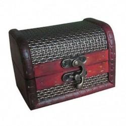 5x (portatív retro stílusú antik stílusú ékszerdoboz Ornam O5F1 aranyjellemzővel)