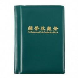 Tartós gyűjtemény-könyv az M2P6 darabjainak hordozható tároló tokjának érmealbumához