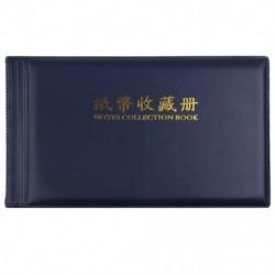 Bankjegypénzgyűjtők Album Pocket Storage 30 oldal Royal blue M6W4