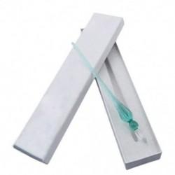 1X (Tesztüveg toll üvegüveg üveg toll (jégzöld) J6Z7)