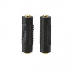 2x dugaszos sztereo mini jack csatlakozó 3,5 mm-es sztereo mini jack csatlakozóhoz 3,5 mm L2R4 T3I7