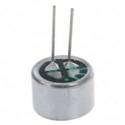 10 PCS 9,7 mm x 7 mm 2 tűs MIC Capsule Electret kondenzátor mini telefon W5L3