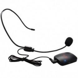 1X (Hordozható FM vezeték nélküli adó-frekvencia-beállító mikrofon Hea Y1V1