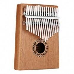 17 kulcsok Kalimba hüvelykujj zongora ujjak zongora játékok hang-kalapáccsal és V1Y4