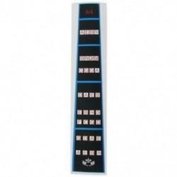 2X (Hegedű ujjvezető / Fingerboard matrica Fret Guide, F I5L4 ujjdiagram