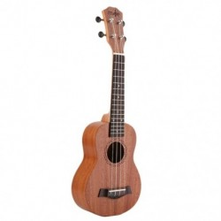 21 hüvelykes Ukulele szoprán kezdő Ukulele gitár Ukulele mahagóni Nyak Delic D2B7