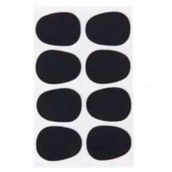 8db Alto / Tenor szaxofon szaxofon-kesztyű javítások Pad párnák fekete --- 0.8mm O1Q3