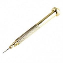 1db DIY arany sarokfúró kézi fúró köröm art gél UV akril tippek Pierc Q2A6