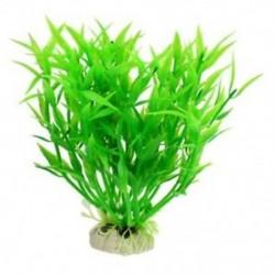 1X (5,5 hüvelyk magas, műanyag tájképű vízi növények dekorációja a Fishtank A B7Q4-hez