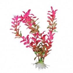 18 cm mesterséges műanyag növény akvárium dekoráció - Fuschia X6K9