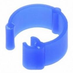 100 db vegyes színű galamb láb műanyag lábgyűrűk sáv belső átmérője 8 mm, Hi A5F1