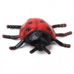 2X (2db kedves katicabogár katicabogár rovar játék gyerekeknek otthoni dekorációra L1H8)
