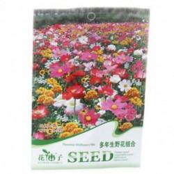 5X (Virágmag-árnyéktolerancia vadvirágok keveréke 200 magvető kerti udvari növény BL