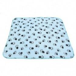 Kisállat takaró gyapjú takaró kutya takaró állati takaró macska háziállat takaró kék A2A4