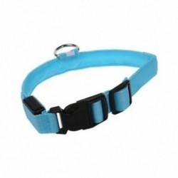 Kutya biztonsági nyakörv villogó LED állítható 2,5 cm szélesség M Q5W2 M1V4 V6J2
