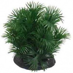 2X (Akvárium műanyag füves vízi növények Akvárium növényi zöld 8cm E8M6