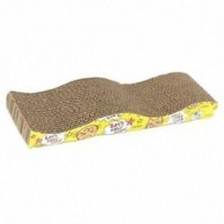 Macska cica hullámos karcolt deszka padlókaró ágytakaró karmok ápolója S1G3