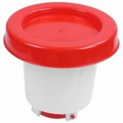 3X (1L műanyag baromfi csirke ivó csirke adagoló C5T8 ital)