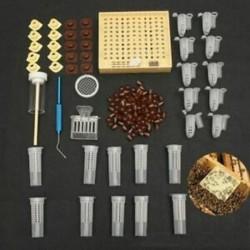 155db műanyag Queen nevelőrendszer mezőgazdasági sejtes csészék Bee Catcher C K1K6