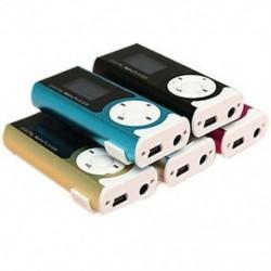 MINI USB klip lejátszó MP3 lejátszó LCD képernyő támogatja a 16 GB-os micro SD TF kártyát B