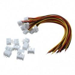 10 pár 150 mm-es 2S1P vezetékkábel   mérlegtöltő dugó az F3R6 RC akkumulátorhoz