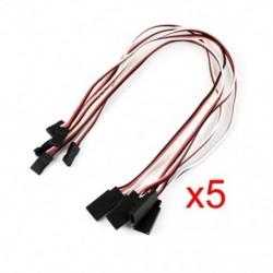 1X (5 db távirányító szervo hosszabbító kábel kábel Z9C7 kábel)