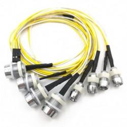 8 LED-es világítókészlet Rc teherautó-irányító lámpakészlet Rc-autó fényszórók hátsó lámpa a Tru T7E0-hez