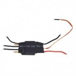 1X (60A kefe nélküli vízhűtéses elektromos fordulatszám-szabályozó ESC és BEC RC csónak Q5A2
