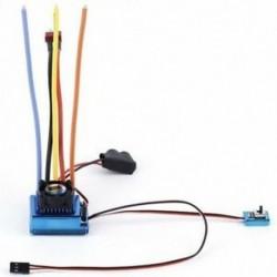 1X (120A SL, kefe nélküli / szálcsiszolt ESC fordulatszám-szabályozó, 1/12 1/16 1/18 1/10 1 W4X1)