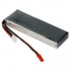 2X (7,4 V 2200mAh 25C 2S lipo akkumulátor JST csatlakozóval I3T1)