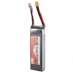 1X (ZOP POWER 11.1V 5000Mah 3S 60C Lipo akkumulátor Xt60 dugó az Rc Drone K6B8-hoz)