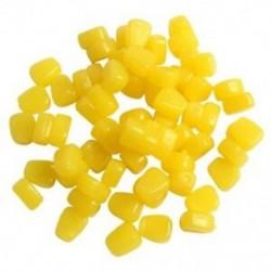 100db / tétel 44G lágy csalik kukorica illatú pontyhorgászcsalikkal úszó T5U1
