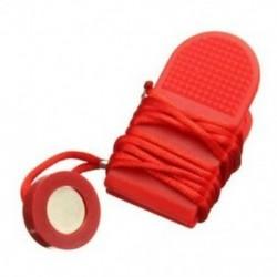 Futógép biztonsági kulcsú futópad mágneses kapcsolózár Fitness piros R6F5
