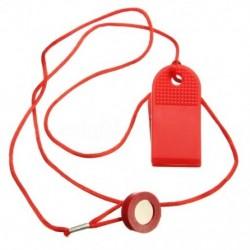 Piros univerzális biztonsági futógép kulcsa futópad mágneses biztonsági kapcsolója O4O1