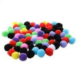 80 db kerek többszínű pompongömb. O1C2 T7P0