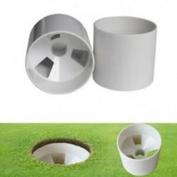 2,7 cm nyílású kültéri golf edzőjelző zászlórúd lyuk kupa golf edzőkészülékek T V2M5