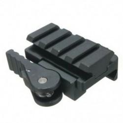 QD 3/5 &quot gyorskioldó tartóelem-adapter 20 mm-es Rail Picatinny Weaver A7H4