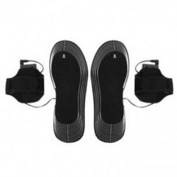 1X (Aa elemmel működő, elektromos fűtésű Cipőbetét talpmelegítő, férfi női H7G6