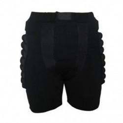 Méret XL Fekete Védőfelszerelés Hip Padded Shorts Korcsolyázás Snowboard Pr O7F4