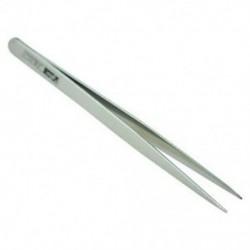 2X (5,1 hüvelykes hosszú ezüst tónusú rozsdamentes acél extra finom hegyes csipeszek L3N1)