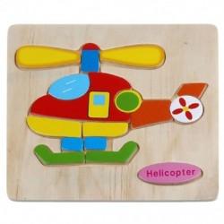 Fa rejtvények oktatási fejlesztésű gyermekkori edzőjátékok (Helicop H1I0