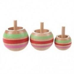 V1P 3db-os, színes, fonó, felső gyerekjáték 3 méret, G6T0