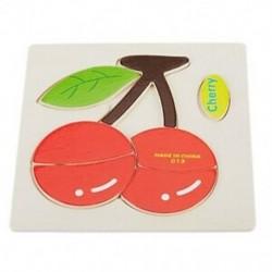 3D-s fa puzzle-játékok gyerekeknek Fa 3D-s rajzfilm állati rejtvények a K1T1-ben